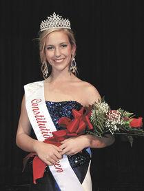 Erika Schrade Constitution Queen Fall 2013