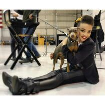 Kendall K and RabbiTheDog 2015-02-01