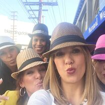 ALDC moms in LA 2015-01-22 Melissa Jill Kira Holly Jessalynn