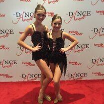 BrookeK and Mackenzie - Top 22 mini female - TDA 2015