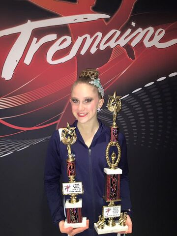 Filetremaine Nyc Overall Teen Solo 1st Place Teen Lyrical Solo Haley