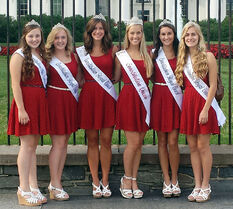 Erika Constitution Queen in front of White House - The Louisville Herald
