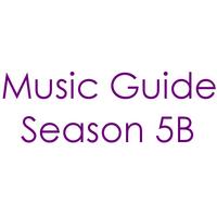 Music Guide Season 5B Century Gothic Font 2