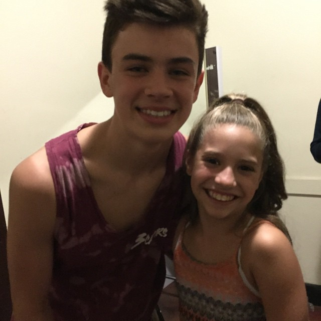 Hayes grier dating history