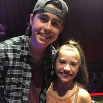 Mackenzie with Nash Grier - 2015-04-29