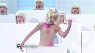 Maddie - Elastic Heart - on Ellen 02