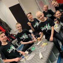 801 Team in dancers den
