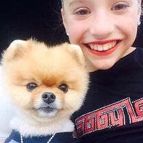 Mackenzie and Jiffpom 30May2015