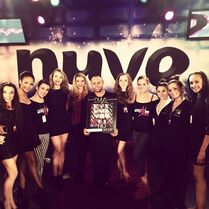 Kamryn Beck Instagram 2013 a at NUVO with James Washington Kaeli Ware Auriel Welty