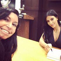 Kira at Kim Kardashian book signing - posted 2015-05-08