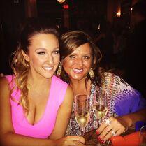 Gianna with Abby after KCA