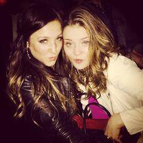 Gianna and Alexa 2014-11-18