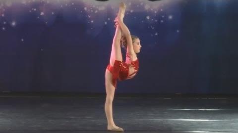 Mackenzie Ziegler - Red - Nuvo - Pittsburgh Nov2013
