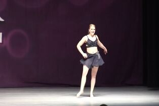 Taylor O'Lear with Bourn Academy of Dance at Rainbow 03-06-2015 (I Will Always Love You) 00.56