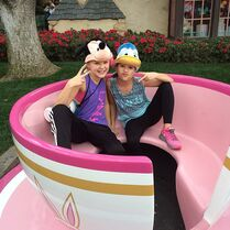 JoJo and Mackenzie in teacup 2015-01-28