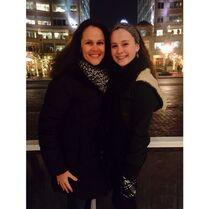 Marcia and Bella 2014-12-17