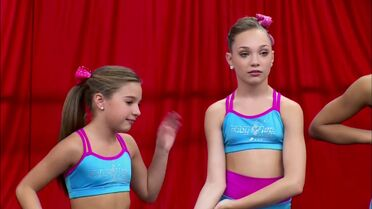 Maddie and Mackenzie - Hollywood Round 2 - Touche you are spot on
