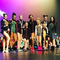 716 Group at awards