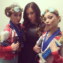 Gianna with Kalani and Maddie 2014-11-08
