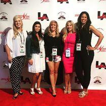 ALDC LA opening Jessalynn Kira Jill Melissa Holly 30June2015