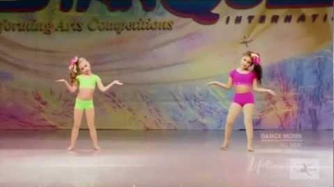 Mackenzie & Vivi Duet - Why Can't We Be Friends? - Dance Moms S01 E02