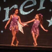The Little Girl Down the Lane - KenzieZiegler vidcap - Mackenzie and Nia duet