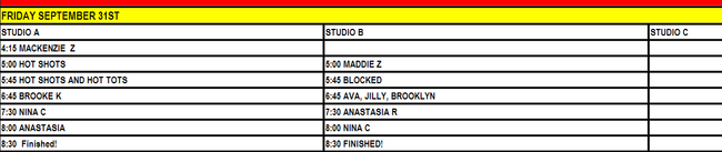 ALDC-RDP Building Studio Schedule-31 September 2011