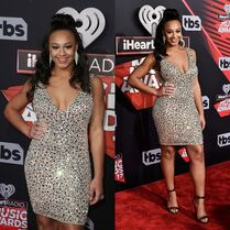 718 Nia on iHeart awards carpet