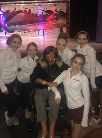 804 Abby with ALDC students