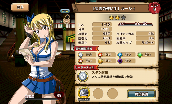 Lucy - User of Celestial Spirits