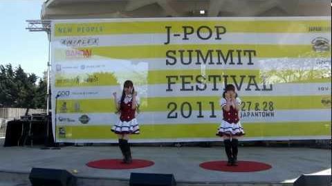 JPSF 2011, Danceroid Emo Love えもラブ-1