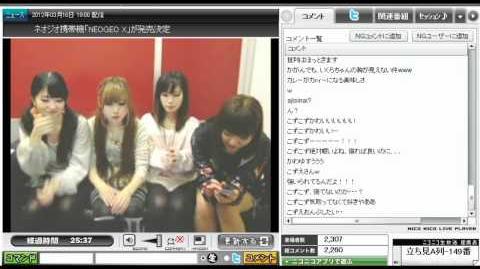 第38回目★DANCEROIDing 2012.3.18