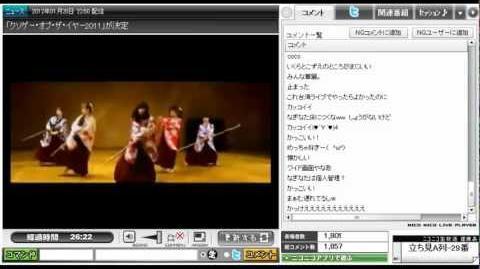 第30回目★DANCEROIDing 2012.1.21