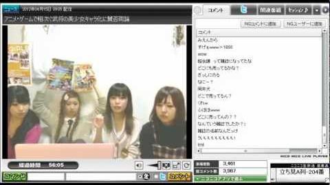 第42回目★DANCEROIDing 2012.4.15