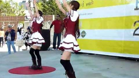 "Rin Kagamine ""Emo Love"" Performed by Danceroid at J-Pop Summit Festival 2011"