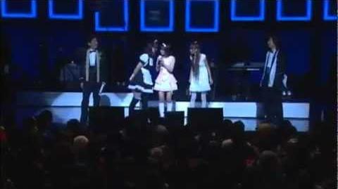 DANCEROIDメドレー(Be Myself~Strobo Nights~Luka Luka★Night Fever)2010.2