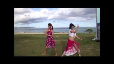 【COCO&柚姫】ハートキャッチ☆パラダイス踊ってみた【inグアム】-0