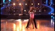 Pia Toscano singing on Dancing With The Stars