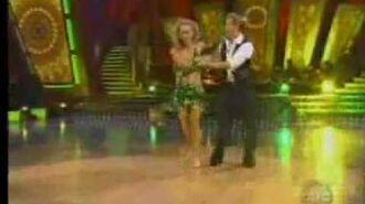Jennie Garth & Derek Hough Week 8 Jive