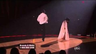 Brandy Norwood & Maksim Chmerkovskiy - Rumba - Week 4