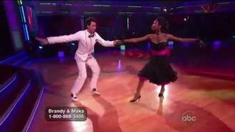 Brandy Norwood & Maksim Chmerkovskiy - Quickstep - Week 5
