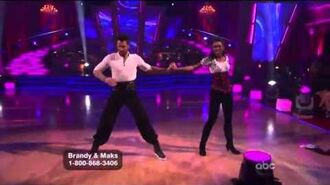 Brandy Norwood & Maksim Chmerkovskiy - Paso Doble - Week 9
