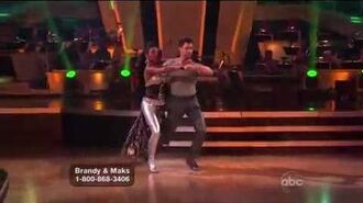 Brandy Norwood & Maksim Chmerkovskiy - Tango - Week 6