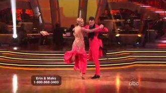 Erin Andrews & Maksim Chmerkovskiy - Quickstep - Week 7