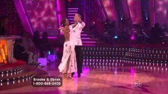 Brooke Burke & Derek Hough - Quickstep