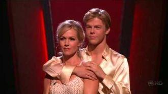 Jennie Garth and Derek Hough DWTS - Voted Off Week 9, Season 5