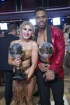 Rashad and Emma Mirrorball