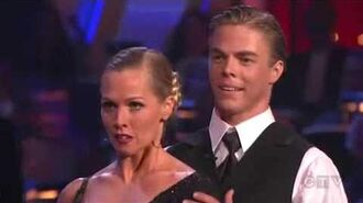 Jennie Garth & Derek Hough Week 3 Tango