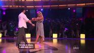 Kirstie Alley & Maksim Chmerkovskiy - Rumba - Week 3