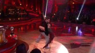 Erin Andrews & Maksim Chmerkovskiy - Argentine Tango - Week 10